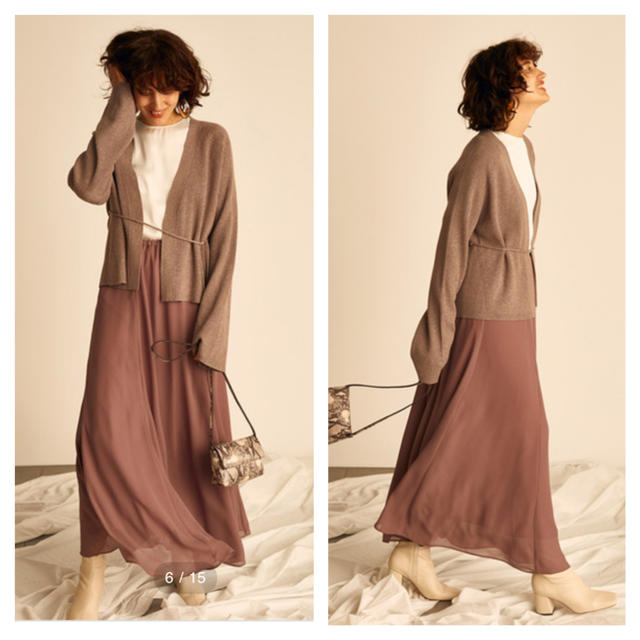 Mila Owen(ミラオーウェン)のウエストゴムフレアマキシスカート  レディースのスカート(ロングスカート)の商品写真