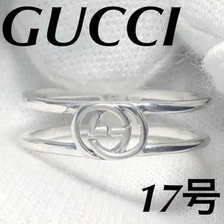 Gucci - 美品 GUCCI インターロッキングリング 指輪 17号
