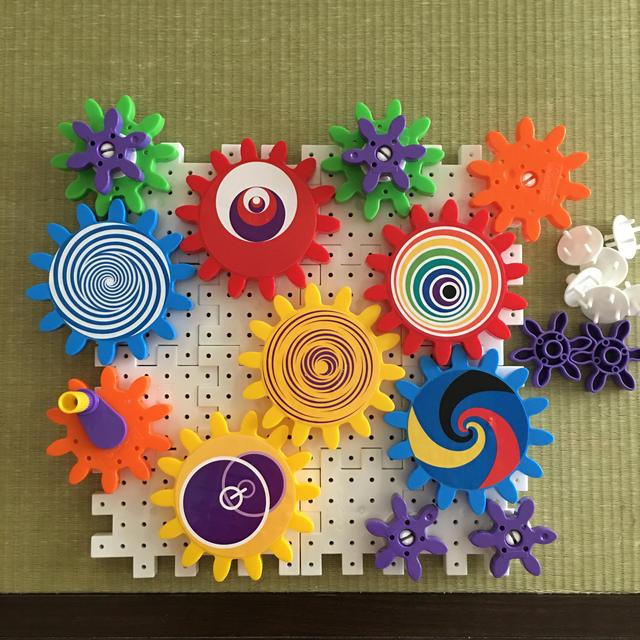 BorneLund(ボーネルンド)のカラフルギア キッズ/ベビー/マタニティのおもちゃ(知育玩具)の商品写真