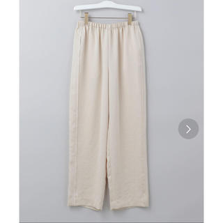 BEAUTY&YOUTH UNITED ARROWS - 6roku NEW SATIN PANTS サテンパンツ  新品未使用タグ付き