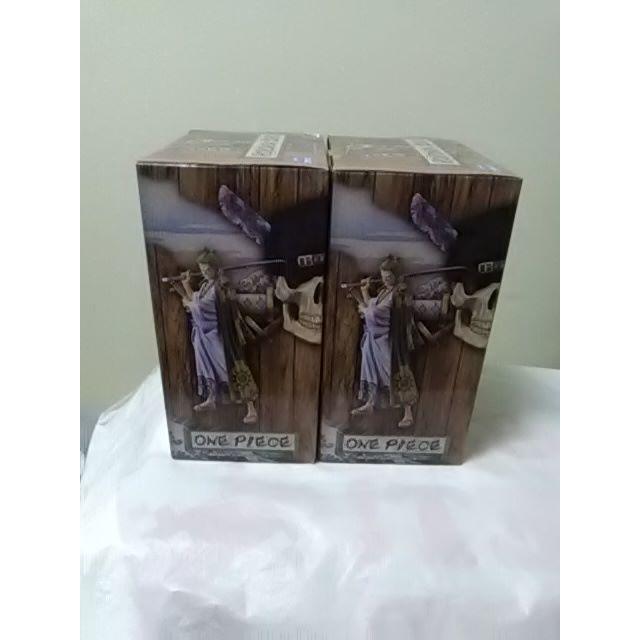 BANDAI(バンダイ)のワンピース DXF THE GRANDLINE MEN ワノ国 ゾロ十郎 2個 エンタメ/ホビーのおもちゃ/ぬいぐるみ(キャラクターグッズ)の商品写真