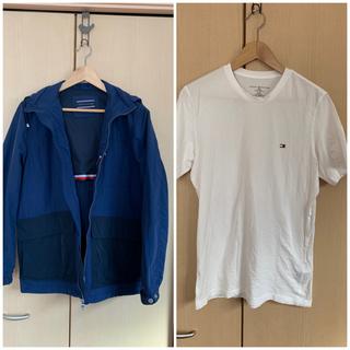TOMMY HILFIGER - トミーヒルフィガー マウンテンジャケット+Tシャツセット