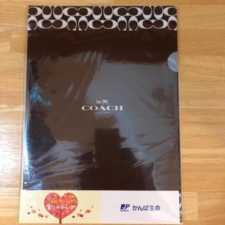 コーチ(COACH)のコーチcoach クリアファイル(クリアファイル)