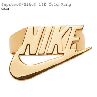 Supreme - Supreme NIKE 14K Gold Ring 7.0 リング
