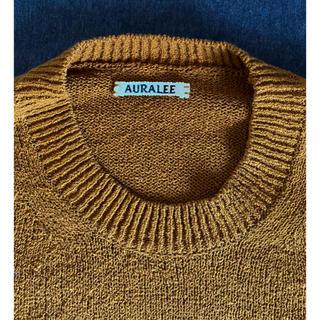 AURALEE 18ss summer knit size4