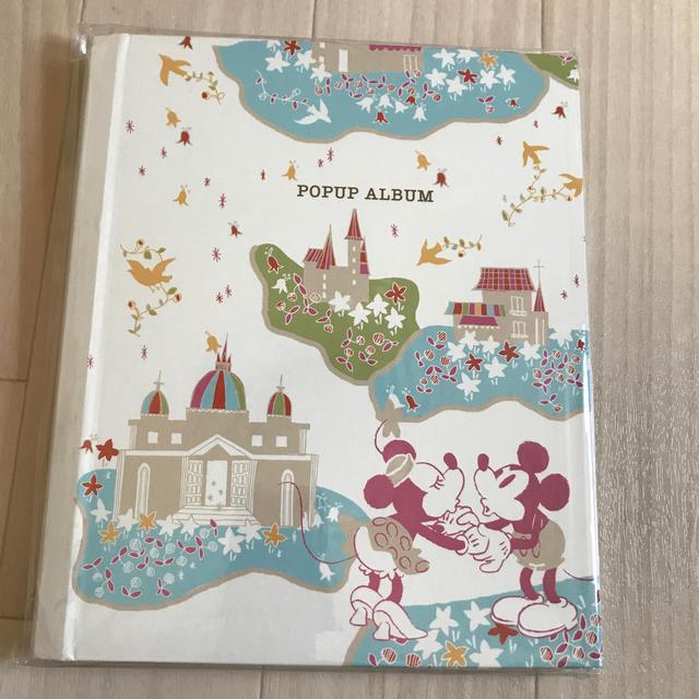 Disney(ディズニー)のディズニー ポップアルバム  インテリア/住まい/日用品の文房具(ノート/メモ帳/ふせん)の商品写真