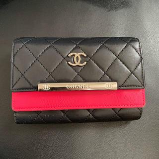 CHANEL -  ノベルティ三つ折り財布