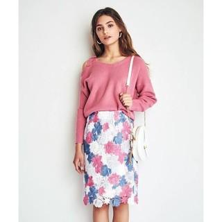 Noela - Noela*カラーレースタイトスカート