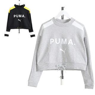 PUMA - 新品タグ付プーマショート丈トレーナー