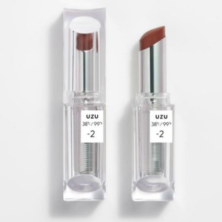 フローフシ(FLOWFUSHI)のUZU −2  ブラウン リップスティック(口紅)