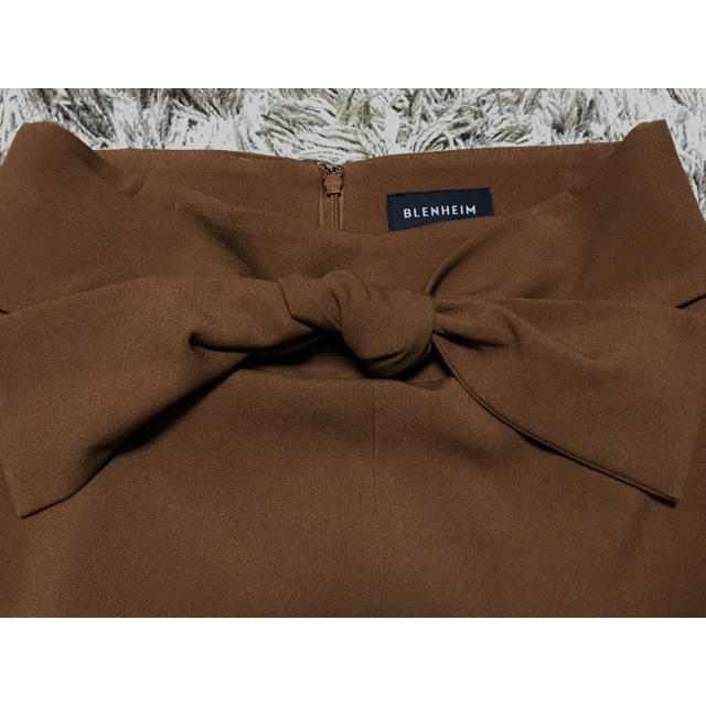 martinique Le Conte(マルティニークルコント)の美品☆BLENHEIM ブレンヘイム フロントスリットロングスカート/ブラウン レディースのスカート(ロングスカート)の商品写真