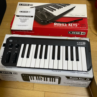 LINE 6 Mobile Keys 25 ライン 6 モバイルキーボード(MIDIコントローラー)
