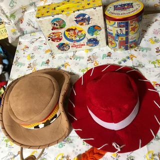 Disney - トイストーリー ウッディ、ジェシー 帽子セット✨