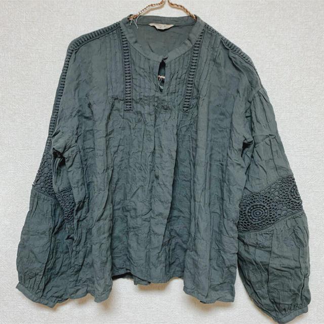 SM2(サマンサモスモス)のSM2 レースピンタックブラウス レディースのトップス(シャツ/ブラウス(長袖/七分))の商品写真
