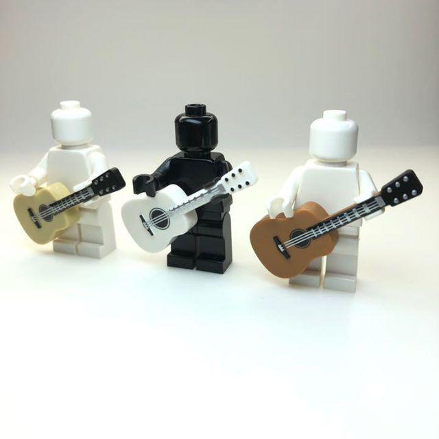 Lego(レゴ)の【新品】LEGO アコースティックギター 3本セット キッズ/ベビー/マタニティのおもちゃ(知育玩具)の商品写真