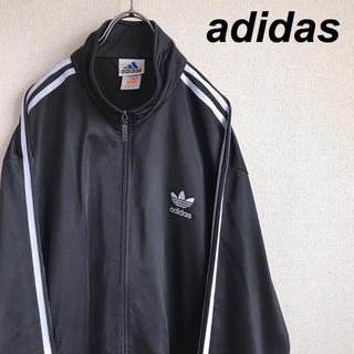 adidas - アディダス トレフォイル 刺繍ロゴ ジャージ トラックジャケット 90s