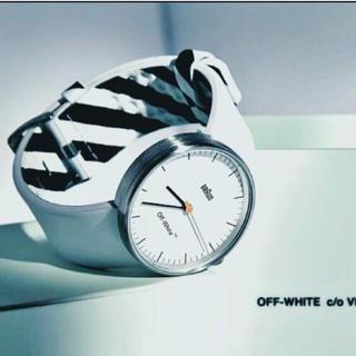 シュプリーム(Supreme)のOff-White×BRAUN アナログ腕時計(腕時計(アナログ))
