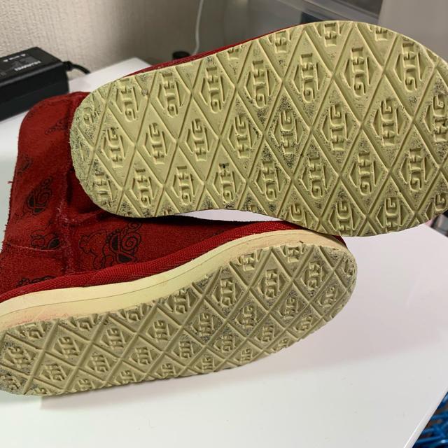 HYSTERIC MINI(ヒステリックミニ)のヒステリックミニ  ムートンブーツXS キッズ/ベビー/マタニティのベビー靴/シューズ(~14cm)(ブーツ)の商品写真