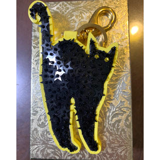 UNDERCOVER - undercover  ネコスパンコールキーチャーム 猫 CAT
