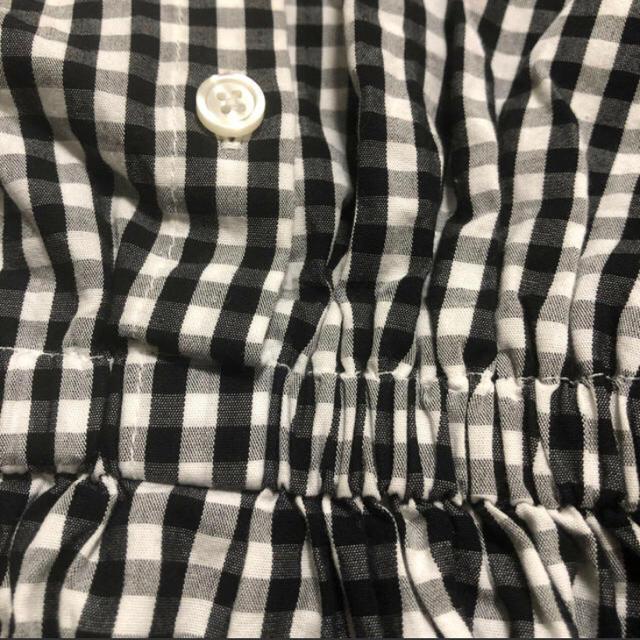 GU(ジーユー)の130サイズ ワンピース キッズ/ベビー/マタニティのキッズ服女の子用(90cm~)(ワンピース)の商品写真