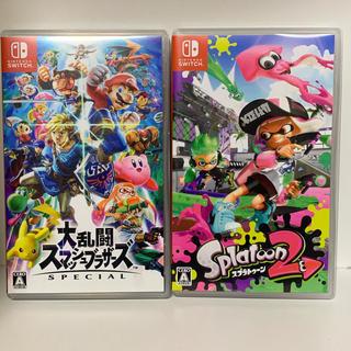 Nintendo Switch - 大乱闘スマッシュブラザーズ スマブラ スプラトゥーン2 Switch
