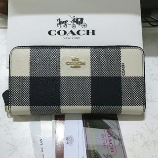 COACH - 【新品】COACHコーチ ファスナー長財布F25966