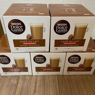 Nestle - ネスカフェ ドルチェグスト カフェオレカフェインレス 16杯分×5箱