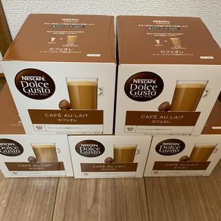 Nestle - ネスカフェ ドルチェグスト カフェオレ 16杯分×5箱