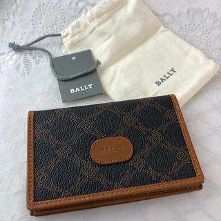 バリー(Bally)の❤セール❤ バリー カードケース 定期入れ パスケース レザー レディース 茶色(名刺入れ/定期入れ)