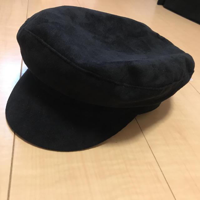 AZUL by moussy(アズールバイマウジー)のタグ付き キャスケット AZUL by moussy レディースの帽子(キャスケット)の商品写真