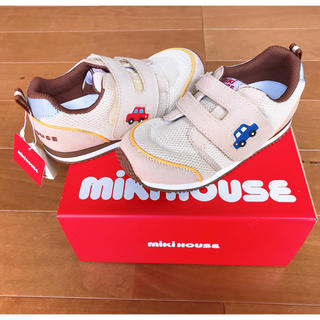mikihouse - 【mikihouse】18cm 新品 スニーカー👟