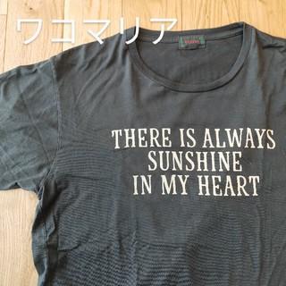 ワコマリア(WACKO MARIA)のワコマリア WACKOMARIA Tシャツ サイズL ブラック 東日本大震災(Tシャツ/カットソー(半袖/袖なし))