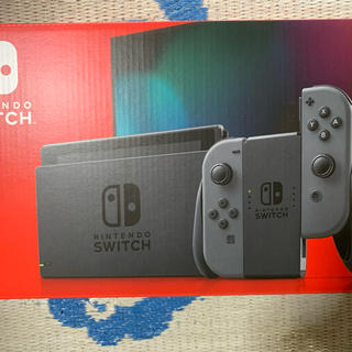 Nintendo Switch - 速発送 ニンテンドースイッチ本体グレー 中古 美品