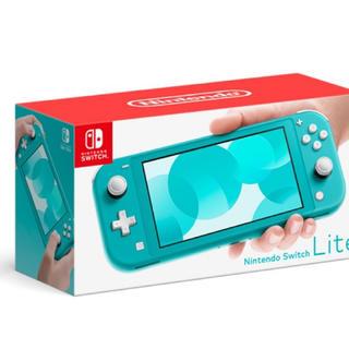 Nintendo Switch - 任天堂スイッチライト ターゴイズ