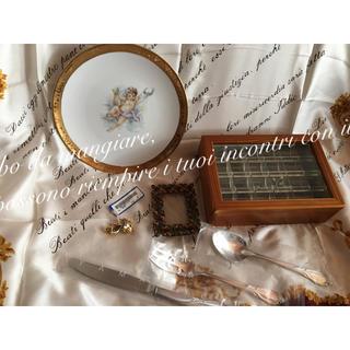レア VAN DER BAUWEDE 豪華 ピアス 高級カトラリー 宝石箱 天使(ピアス(両耳用))