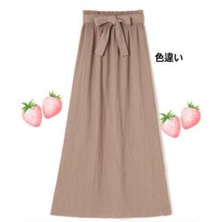 dholic - タイムセール♡リボン ストレッチ ロングスカート パープル 6900円→