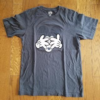 UNIQLO - Tシャツ グレー ユニクロ ディズニー