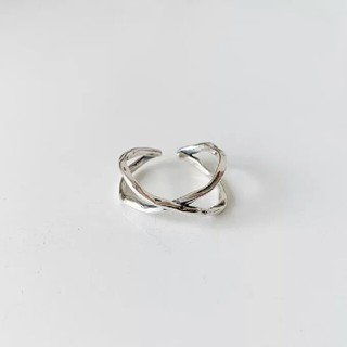 TODAYFUL - import silver 925 vintage cross ring