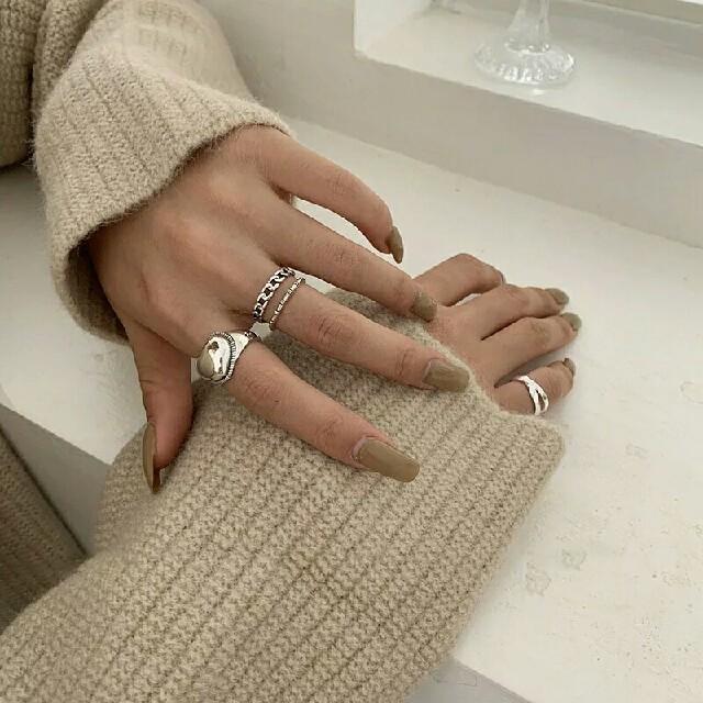 TODAYFUL(トゥデイフル)のimport silver 925 vintage load ring レディースのアクセサリー(リング(指輪))の商品写真
