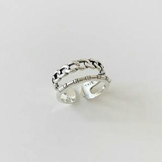 TODAYFUL - import silver 925 vintage load ring