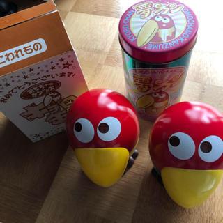 モリナガセイカ(森永製菓)のキョロちゃん缶(ノベルティグッズ)