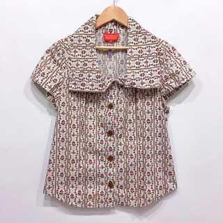 Vivienne Westwood - 美品 ヴィヴィアンウエストウッド 花柄 オーブ 総柄 シャツ