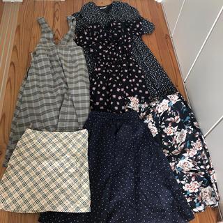 MERCURYDUO - ワンピース スカートまとめ売り