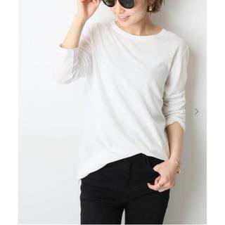 ドゥーズィエムクラス(DEUXIEME CLASSE)のDeuxieme Classe spring-like Tシャツ  ホワイト(カットソー(長袖/七分))