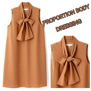 PROPORTION BODY DRESSING - PROPORTION BODY DRESSING⭐️ボウタイワンピース