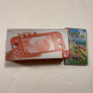 Nintendo Switch - 未開封 Switch lite コーラル あつまれどうぶつの森 セット