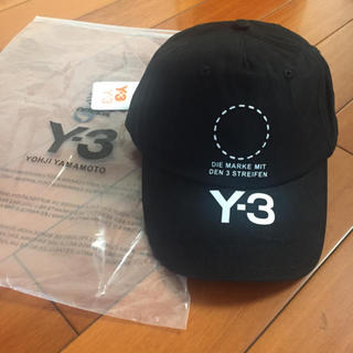 ワイスリー(Y-3)のY-3 ロゴ キャップ フリーサイズ(キャップ)