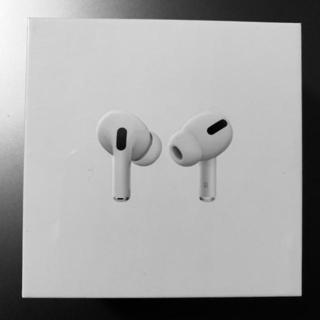 アップル(Apple)のAir Pods Pro 新品 未開封 エアーポッズプロ(ヘッドフォン/イヤフォン)
