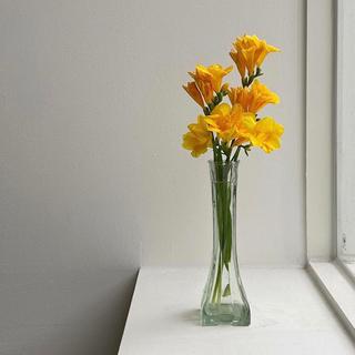 ZARA - 小花柄ロングワンピース