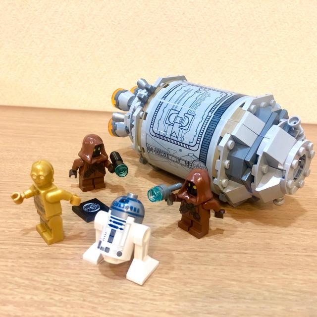 Lego(レゴ)のレゴ スターウォーズ 「ドロイドの脱出ポッド 」 キッズ/ベビー/マタニティのおもちゃ(積み木/ブロック)の商品写真